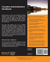 hadoop definitive guide pdf buy cloudera administration handbook book online at low prices in