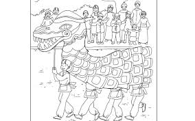 lion dance free chinese new year coloring pages best of