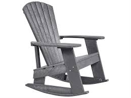 Recycled Plastic Rocking Chairs C R Plastic Generation Recycled Plastic Adirondack Rocking Chair C04