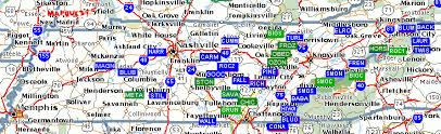 map ky and tn swimmingholes info tennessee swimming holes and springs rivers