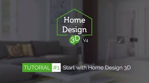 Home Designing 3d by Tuto 1 Start With Home Design 3d Youtube