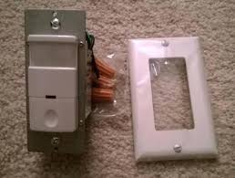 self contained motion detector light motion light switch decorator vacancy motion sensing self contained