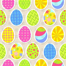 colorful easter egg seamless wallpaper vector image 64132 u2013 rfclipart
