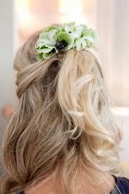 half up half down wedding hair for brides and bridesmaids half up