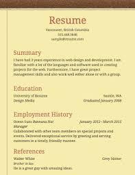 Resume Abroad Sample by Download Simple Resume Format Haadyaooverbayresort Com