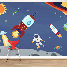 28 space wall murals conceptual image of a scene in outer space wall murals space adventure wall mural