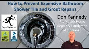 how to prevent tile and grout repairs promaster home repair