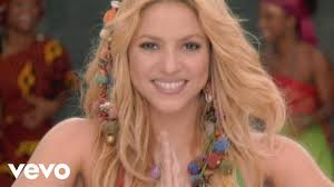 what color is shakira s hair 2015 shakira waka waka this time for africa ft freshlyground youtube
