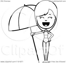 free coloring pages beach umbrella coloring pages printable