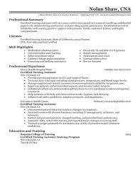 nursing assistant resume exle nursing assistants resume sales nursing lewesmr