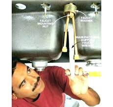 how to install a kitchen sink sprayer how do you replace a kitchen faucet doublexit info