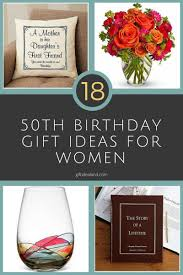 18 good 50th birthday gift ideas for her