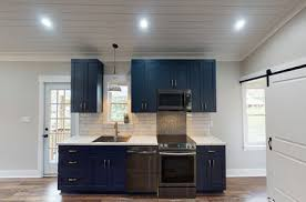are blue cabinets trendy all the reasons to jump on the blue cabinet kitchen trend