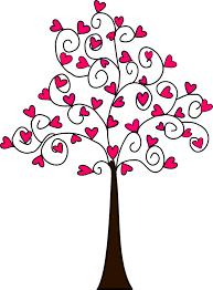 cute trees beyond the fringe free heart tree digi u0027s free printables