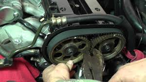 suzuki forenza timing belt replacement part 3 youtube