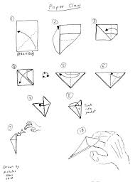 Origami Paper Claws - how to make an origami claw origami how to make the easiest paper