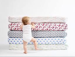 gorgeous nature designs on lewis organic crib sheets turn baby u0027s