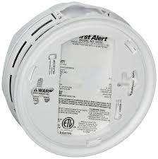 first alert sco5cn combination smoke and carbon monoxide alarm