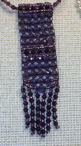 julianna hudgins jewel loom crystal pendent beading on a string