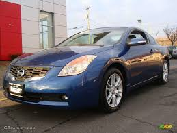 nissan altima coupe 3 5 se 2008 azure blue metallic nissan altima 3 5 se coupe 3405708