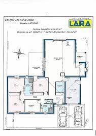 plan maison 3 chambre chambre lovely plan de maison plain pied 3 chambres avec garage high