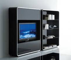 living simple wall mounted tv cabinet with doors with cool