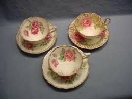 roses teacups 3 roses teacups saucers collingwoods aynsley royal