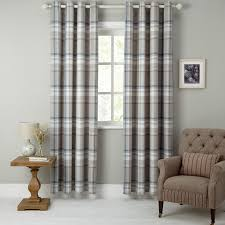 Standard Curtain Length South Africa by Buy John Lewis Darcey Check Lined Eyelet Curtains John Lewis