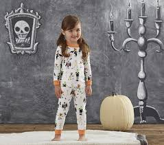 halloween tight fit pajama pottery barn kids