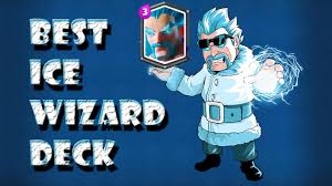 clash royale best ice wizard deck and attack strategy youtube