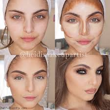 how makeup highlight and contour can change your face c5 c2 contoue