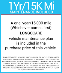 2011 toyota service schedule longo toyota vehicles for sale in el monte ca 91731
