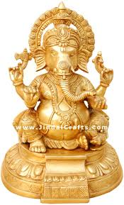 God Statue by Hindu God Statue Indian Figurine Artifact Religious Handicrafts Murti