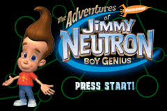 game boy advance video adventures jimmy neutron boy