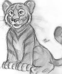 baby tiger waiting room sketch by tehmomo on deviantart