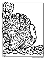 thanksgiving turkey coloring page woo jr activities
