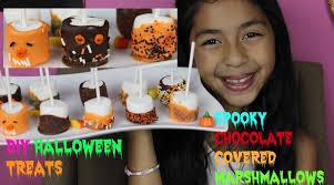 diy halloween marshmallows halloween treats chocolate