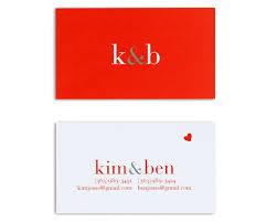 Monogram Business Cards Classico Couple Monogram Business Card U2013 Lupa U0026 Pepi