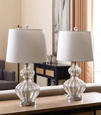 Mercury Glass Table Lamp Lamps Silver Mercury Glass Table Lamps