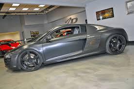Audi R8 Matte - evil 800hp matte black audi r8 by vf engineering gtspirit