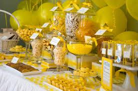 yellow candy buffets u2013 cw distinctive designs