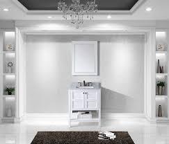 Virtu Bathroom Vanity by Virtu Es 30030 Wmsq Wh Winterfell Single Bathroom Vanity Cabinet