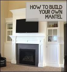 How To Build Fireplace Mantel Shelf - best 25 white fireplace mantels ideas on pinterest mantle ideas