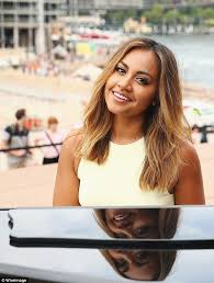 aussie 2015 hair styles and colours jessica mauboy celebrates launch of free australia day concerts at
