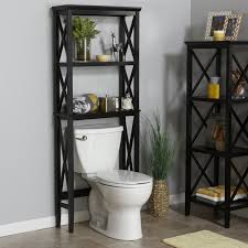 Bathroom Toilet Cabinets Toilet Furniture Sets Over The Toilet Cabinet Black Over The