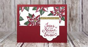 jesus is the reason for the season card ink it up