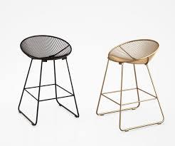 pop kitchen counter stool in black and gold 3d model max obj mtl tga