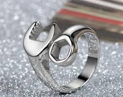 Mechanic Wedding Ring by Mechanic Jewelry Etsy