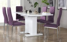 Black Gloss Dining Table And 6 Chairs Attractive Dining Table With 6 Chairs Exquisite Dining Tables With