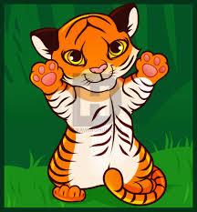 how to draw a tiger cub tiger cub step by step by darkonator